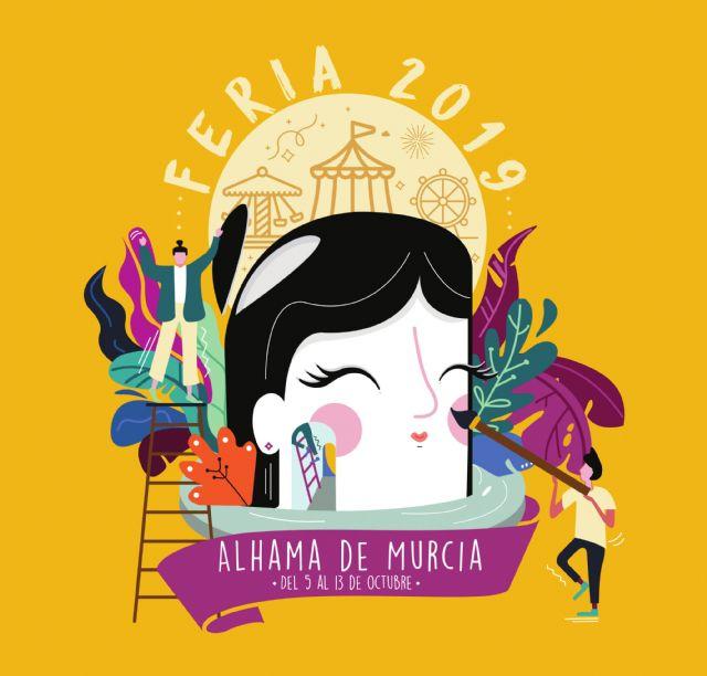 Paula Salinas, autora del cartel de la Feria de Alhama 2019, Foto 1