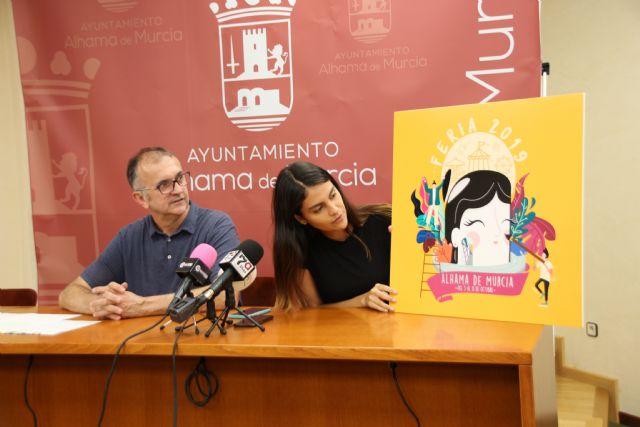 Paula Salinas, autora del cartel de la Feria de Alhama 2019, Foto 2