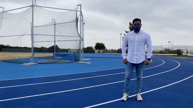 La nueva pista de atletismo de Puerto Lumbreras ya alberga entrenamientos de calidad de atletas locales - 1, Foto 1