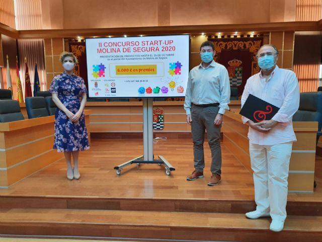 El Ayuntamiento de Molina de Segura convoca la segunda edición del Concurso Startup Molina de Segura para iniciativas emprendedoras - 1, Foto 1