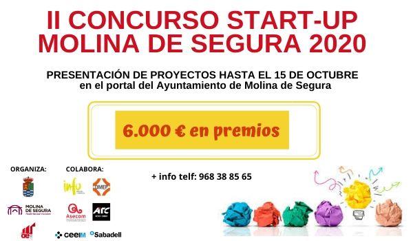 El Ayuntamiento de Molina de Segura convoca la segunda edición del Concurso Startup Molina de Segura para iniciativas emprendedoras - 3, Foto 3