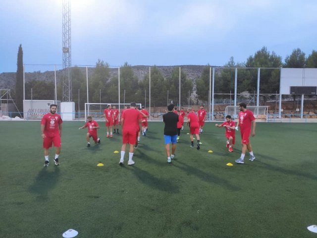 The facilities of the Department of Sports have hosted training sessions for the Third Division team, Olímpico Club de Fútbol, ??since last Monday
