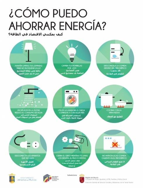 Servicios Sociales lanza una nueva campaña sobre pobreza energética, Foto 1