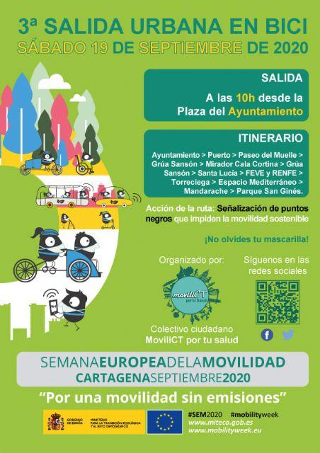 MoviliCT por tu salud reclama al Ayuntamiento que cumpla con el programa de actividades que propuso a la unión europea al inscribirse en la Semana Europea de la Movilidad - 1, Foto 1