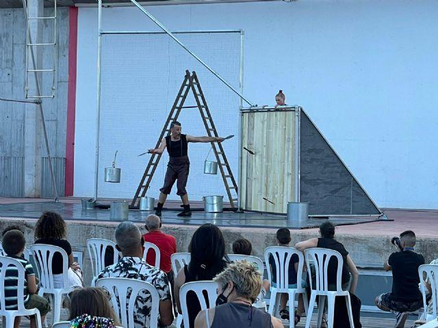 La temporada escénica comienza con tres espectáculos teatrales de calle en el Auditorio Parque Fofó - 1, Foto 1