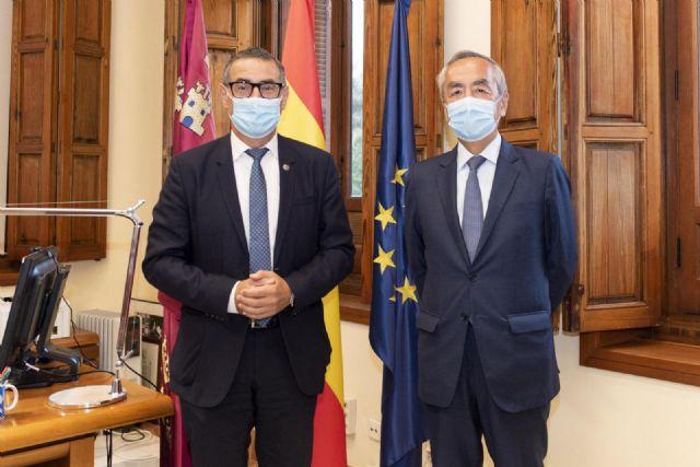 Visita institucional del embajador de Japón a la Universidad de Murcia - 2, Foto 2