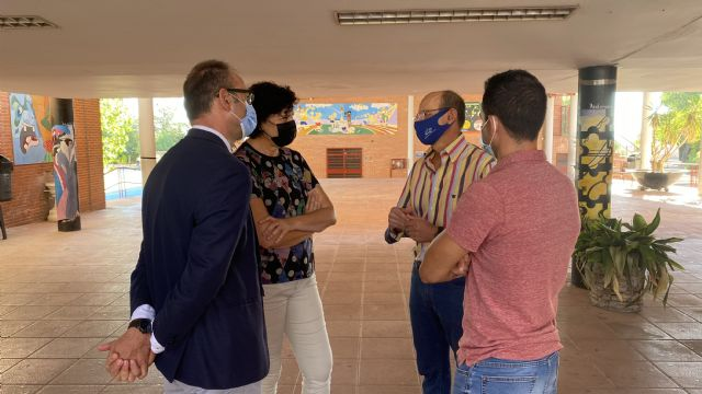 El director general de Planificación Educativa y Recursos Humanos visita los centros educativos de Puerto Lumbreras, que han comenzado el curso con total normalidad - 3, Foto 3