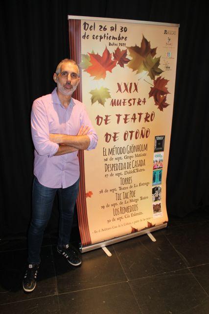 Bullas celebra la XXIX Muestra de Teatro en Otoño con grandes compañías - 3, Foto 3