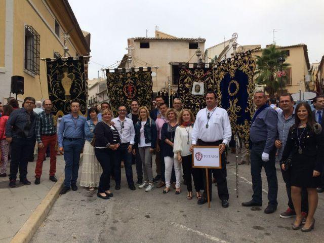 La Semana Santa de Totana presente en el XV encuentro de hdades. y cofradías en Caravaca de la Cruz