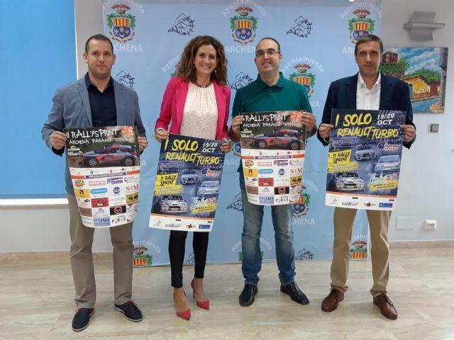 Presentado el II Rally Sprint y Solo Renault Turbo que se celebrará en Archena este próximo fin de semana - 1, Foto 1