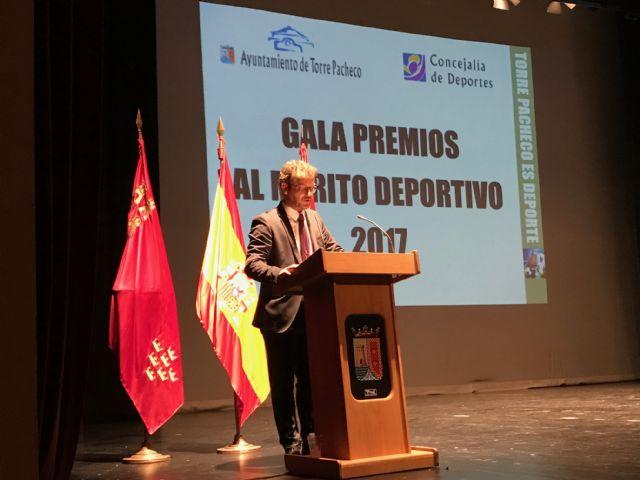 Deportistas de Torre Pacheco reciben un reconocimiento en la II Gala del Deporte Premios al Mérito Deportivo Torre Pacheco 2017 - 2, Foto 2