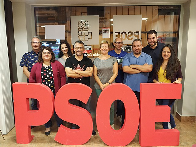 The PSOE of Totana presents its Municipal Management Commission in order to continue working for Totana and socialism