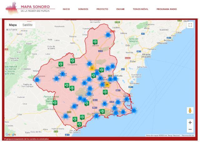 Un mapa interactivo difunde más de 500 sonidos representativos de la Región de Murcia, Foto 1