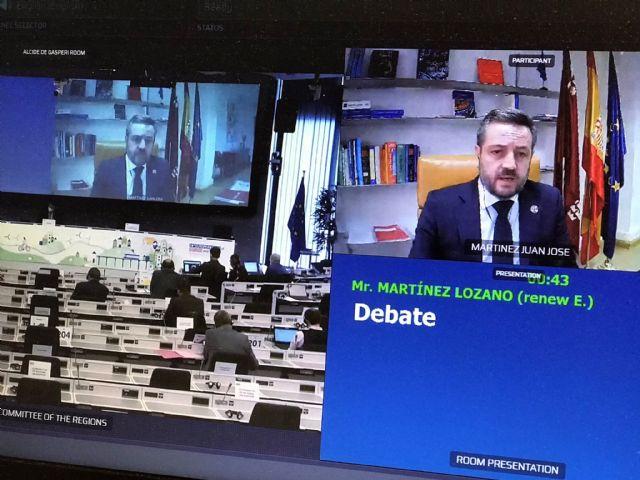 La Comunidad reclama la implicación de los gobiernos regionales en los planes nacionales del mecanismo de recuperación de la UE, Foto 1