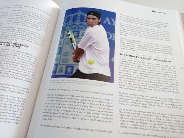 El Real Murcia Club de Tenis 1919 presenta un libro que repasa sus cien años de historia e incluye imágenes inéditas - 4, Foto 4