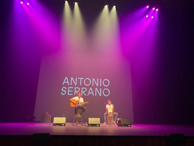 Antonio Serrano gana el CreaMurcia de Canción de Autor - 1, Foto 1
