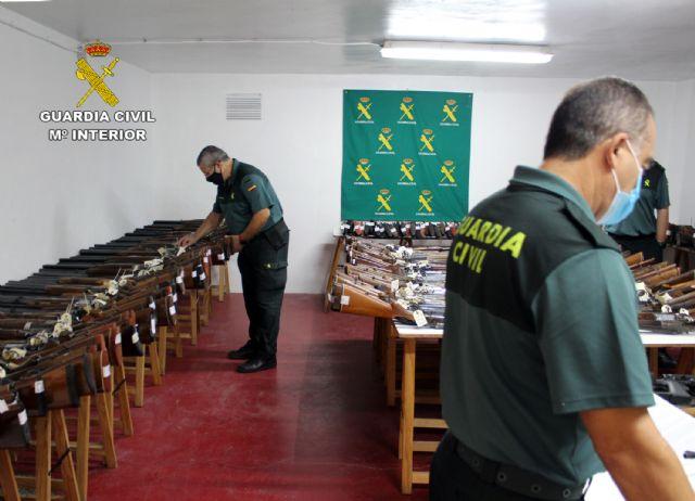 The Civil Guard of Murcia celebrates the 2020 arms exhibition-auction, Foto 6