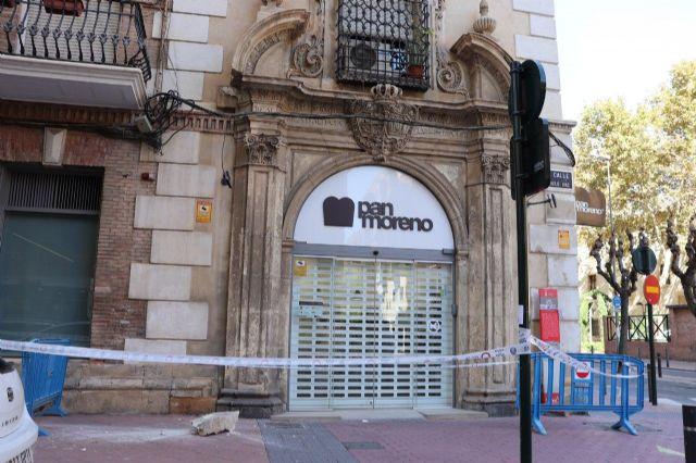 Huermur denuncia la caída de cascotes del edificio de los Nueve Pisos - 4, Foto 4