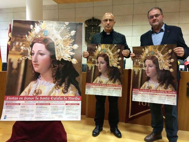 Video. Presentación actividades religiosas de las fiestas patronales de Santa Eulalia 2016