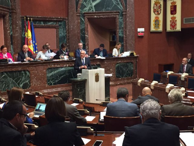 The PSOE appeals to the solidarity and responsibility of the central and regional administrations with the debt of the City of Totana The deputy, Alfonso Martinez Baños, requests that the regional government take it into account in the budgets for 20