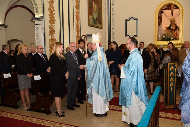 José Manuel Lorca Planes preside la misa solemne del Milagro, Foto 1