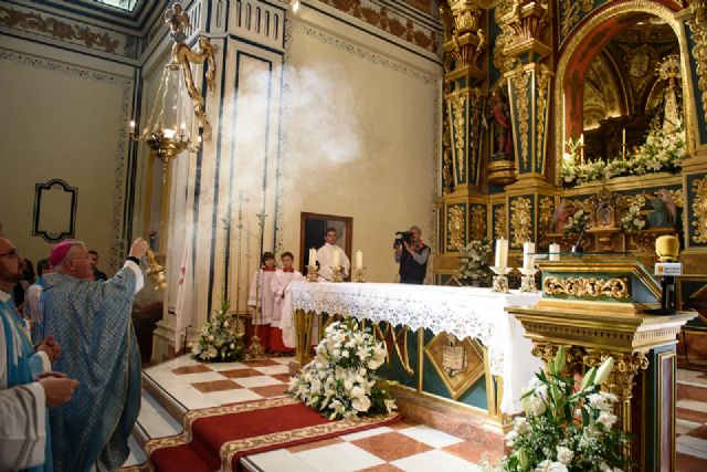 José Manuel Lorca Planes preside la misa solemne del Milagro, Foto 2