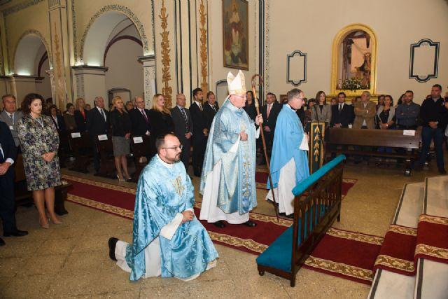 José Manuel Lorca Planes preside la misa solemne del Milagro, Foto 4