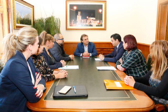 El Director del SEF visita Fortuna - 1, Foto 1