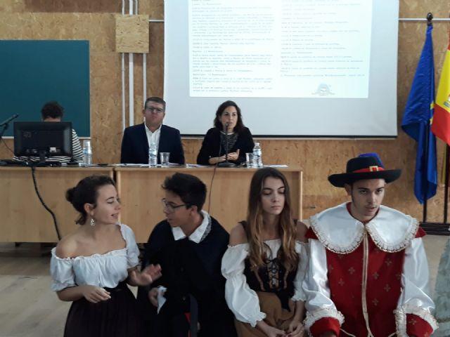 El IES el Carmen de Murcia inaugura su semana De la Literatura al Cine en el marco de los programas Erasmus+ - 1, Foto 1