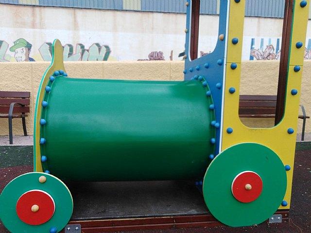 Reparada la atracción infantil dañada en el parque de La Estación - 1, Foto 1