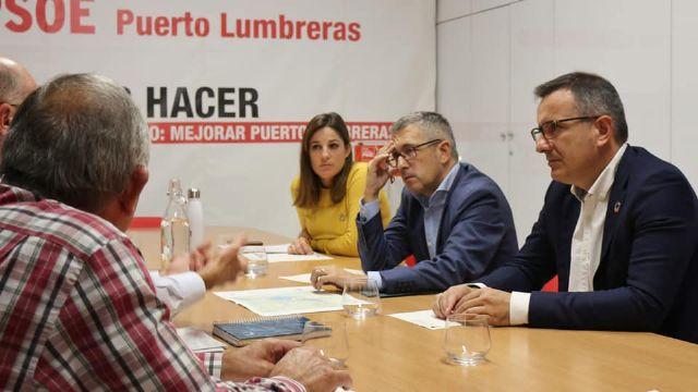 El Secretario de Estado de Medioambiente, Hugo Morán, se reúne con la Comunidad de Regantes de Puerto Lumbreras - 1, Foto 1