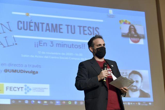 La UMU reconoce las dotes divulgativas de sus jóvenes investigadores en 'Tesis en 3 minutos' - 1, Foto 1