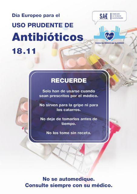 Desde SAE hacemos una llamada al uso responsable de los antibióticos - 1, Foto 1
