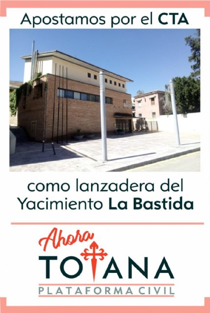 Now Totana is betting on the CTA as a shuttle for the La Bastida site, Foto 2