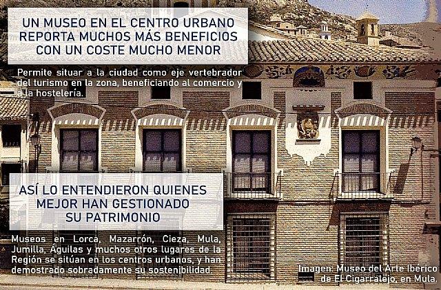 Ganar Totana: Un museo en el centro urbano reporta muchos m�s beneficios con un coste mucho menor, Foto 1
