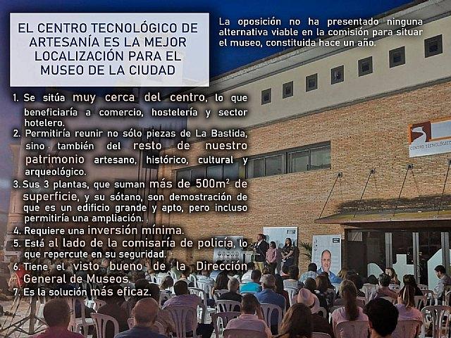 Ganar Totana apuesta por el CTA para el Museo de la Ciudad - 1, Foto 1