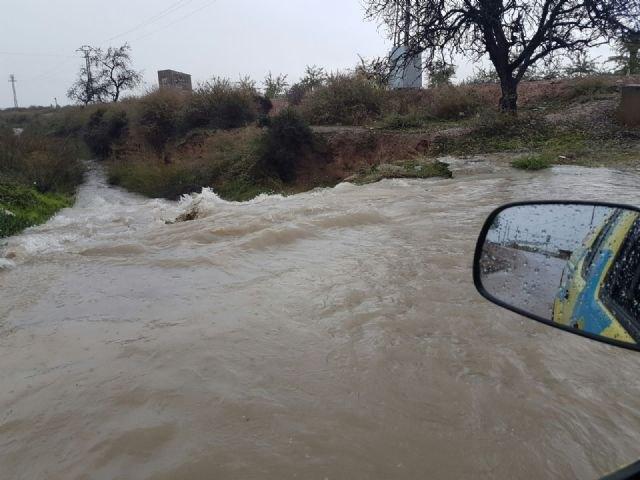Continúa el temporal de lluvias en Totana sin incidencias relevantes - 1, Foto 1