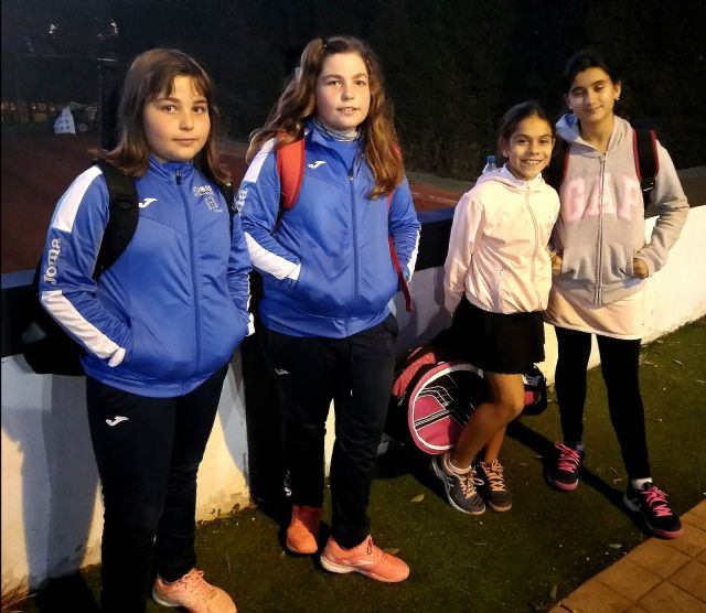 5° jornada de liga interescuelas donde el Club de tenis Kuore consigue la victoria por un claro 15/4 al Olimpic Club de Murcia