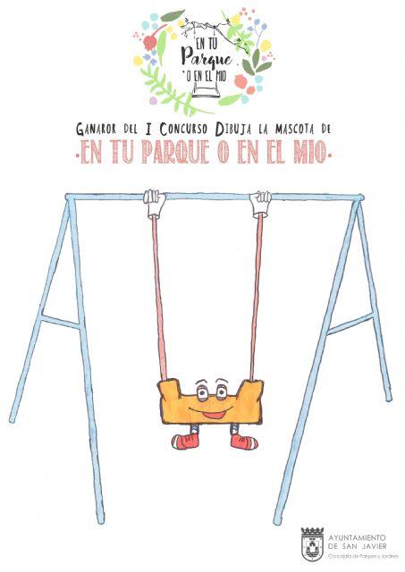 El niño Juan José Mazón de 11 años diseña la mascota de los parques infantiles municipales - 1, Foto 1