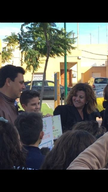El niño Juan José Mazón de 11 años diseña la mascota de los parques infantiles municipales - 2, Foto 2