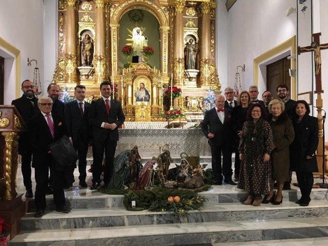 El pregón de Juan Antonio Lorca, director general de Bienes Culturales inauguró la Navidad en San Javier - 1, Foto 1