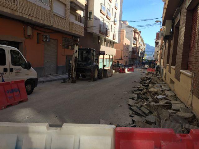 En marcha las obras de renovación y ensanche de las aceras de la calle Juan Ramón Jiménez - 1, Foto 1