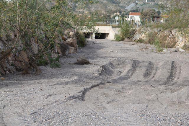 El Ayuntamiento de Puerto Lumbreras solicita a la Confederación Hidrográfica del Segura el arreglo de la Rambla del Murciano tras los desperfectos de la DANA - 3, Foto 3
