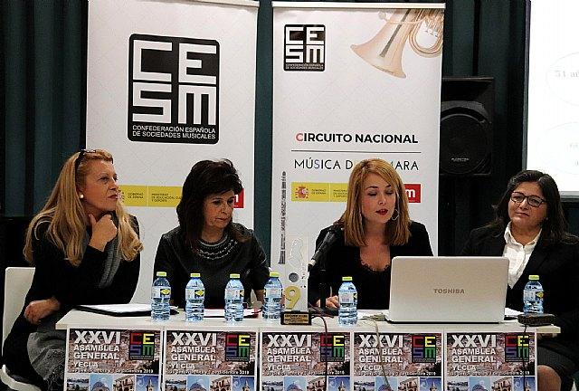 """Directoras y directivas de sociedades musicales reivindican una mayor presencia de la mujer """"todo el año"""" y no solo el 8 de marzo - 2, Foto 2"""