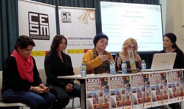 """Directoras y directivas de sociedades musicales reivindican una mayor presencia de la mujer """"todo el año"""" y no solo el 8 de marzo - 3, Foto 3"""