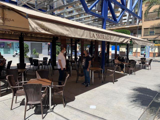 Los hosteleros de Alcantarilla están exentos de pagar la tasa por terrazas durante los primeros seis meses de 2021 - 1, Foto 1