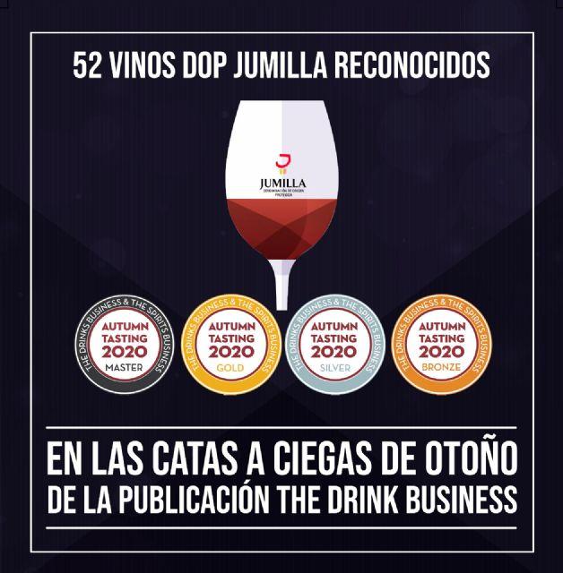 52 medallas a DOP Jumilla en las catas de otoño de la publicación The Drink Business - 2, Foto 2