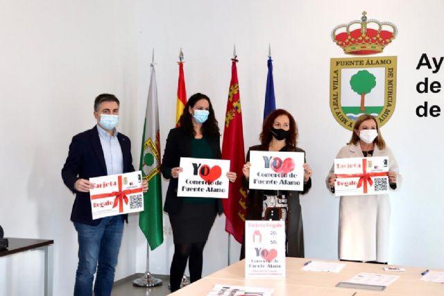El Ayuntamiento de Fuente Álamo y la Asociación de Comerciantes del municipio ponen en marcha la iniciativa 'Tarjeta Regalo' para apoyar al comercio local - 1, Foto 1