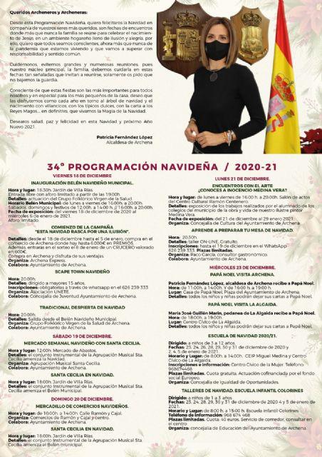 La Alcaldesa de Archena firma el contrato de la Navidad - 3, Foto 3