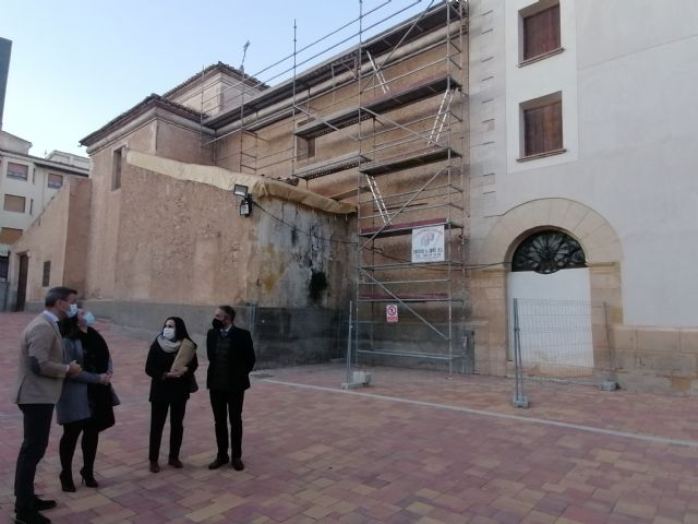 Cultura invierte 225.000 euros en rehabilitar la Iglesia de San Francisco de Yecla - 1, Foto 1